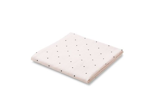 Liewood Molly swaddle Classic dot 120x120 Sweet rose