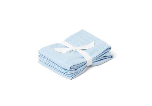 Liewood Tetradoek Hannah 70x70 2st Baby Blue
