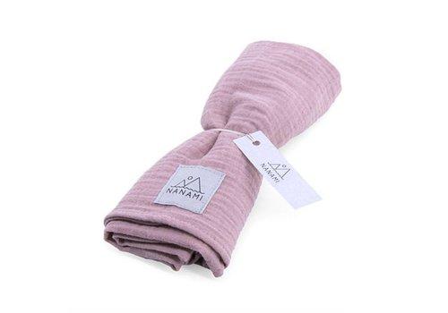 Nanami Swaddle mousseline 60x60cm Pink