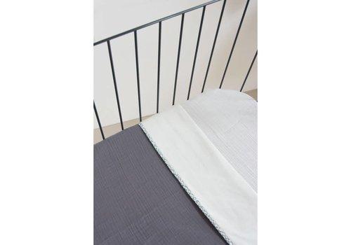 Nanami Wiegdeken zomer 75x100cm Grey