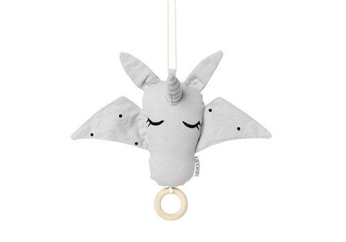 Liewood Muziekmobiel Alma Unicorn Dumbo grey