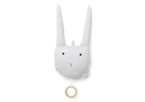 Liewood Muziekmobiel Alma Rabbit dumbo grey