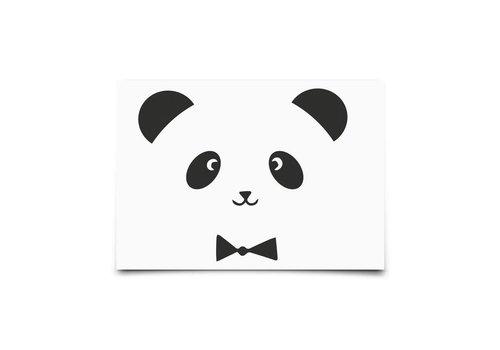 Eef Lillemor Kaartje Monochrome Animals Panda