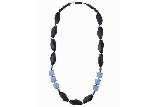 Nibbling Necklace Brighton black/blue