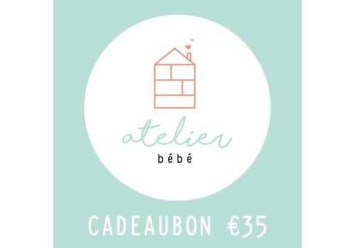 Cadeaubon €35,00