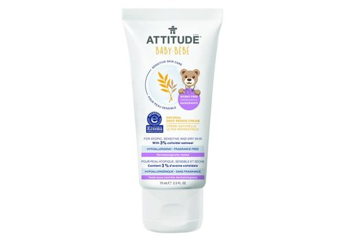 Attitude Sensitive Skin Deep repair cream 75ml