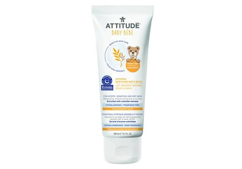 Attitude Sensitive Skin Soothing bath soak 200ml