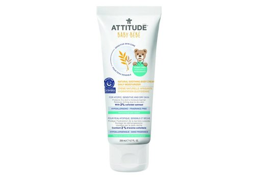 Attitude Sensitive Skin Soothing bodycream 200ml