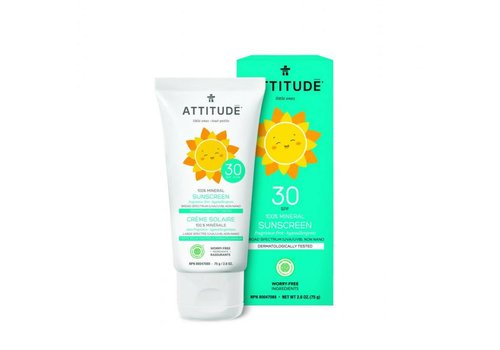 Attitude Little Ones Zonnebrandcreme geurvrij 75ml