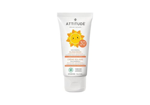 Attitude Little Ones Sunscreen vanilla 75ml