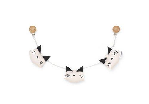 Liewood Holger Pram chain Cat sweet rose
