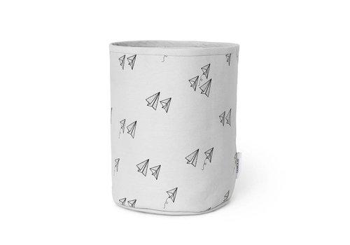 Liewood Textielmand Ella Paper plane Dumbo grey