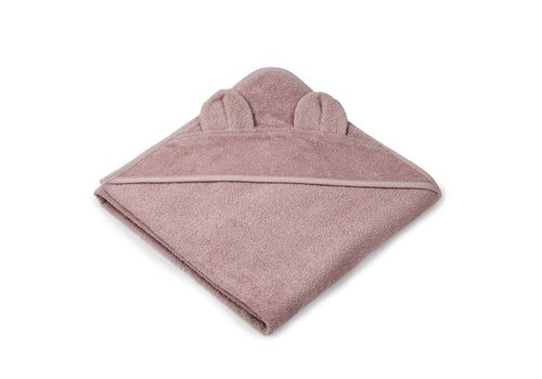 Liewood Towel Augusta 100x100 Mr. Bear Rose