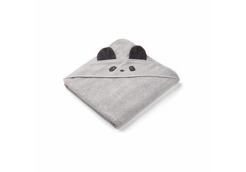 Liewood Towel Augusta 100x100 Panda Dumbo grey