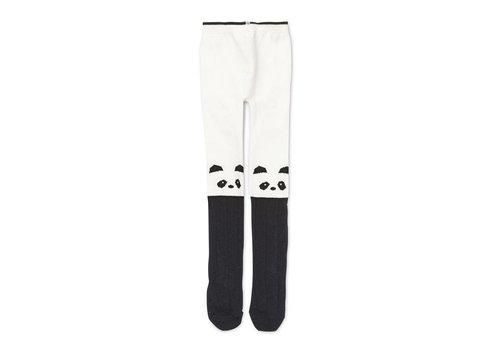 Liewood Silje stockings Panda Creme de la creme
