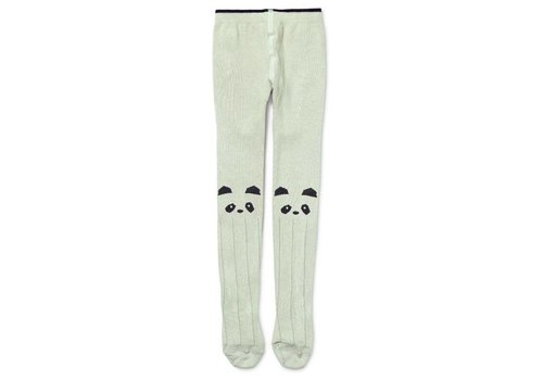 Liewood Silje stockings Panda Dusty mint