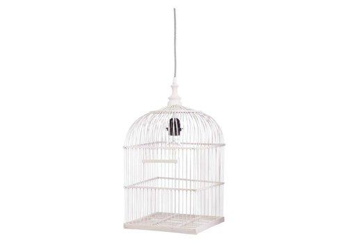 KidsDepot Hanglamp Birdy 45cm wit
