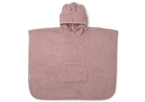 Liewood Poncho Orla Mr. Bear Rose