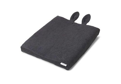 Liewood Hoes voor luierkussen Egon 62x50 Rabbit Dark Grey