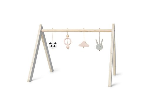 Liewood Wooden playgym with accessories Girl