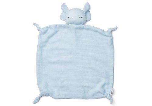 Liewood Knuffeldoekje Agnete Elephant Baby Blue