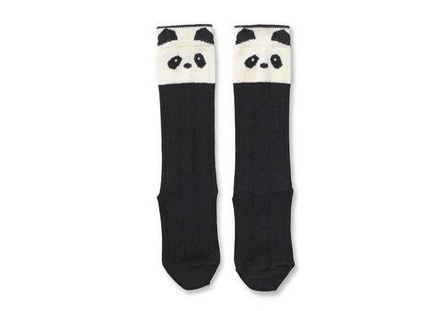 Liewood Sofia knee socks Panda Creme de la creme