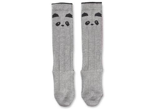 Liewood Sofia knee socks Panda Grey melange