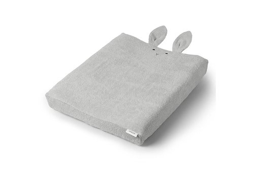 Liewood Cover for changing cushion Egon 62x50 Rabbit Dumbo Grey