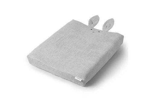 Liewood Hoes voor luierkussen Egon 62x50 Rabbit Dumbo Grey