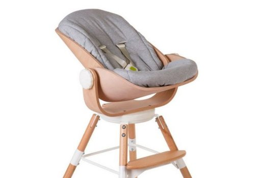 Childhome Evolu Newborn seat cushion Jersey grey