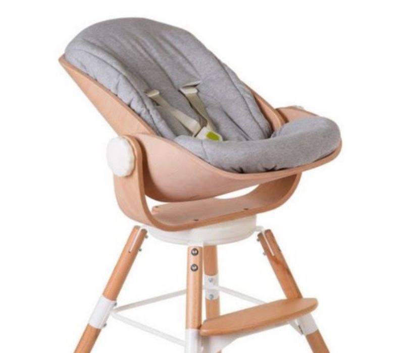 Evolu Newborn seat cushion Jersey grey