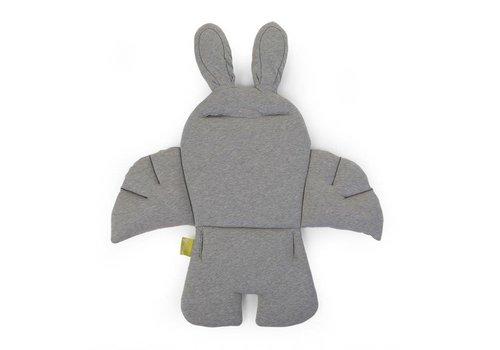 Childhome Rabbit stoelkussen jersey grijs