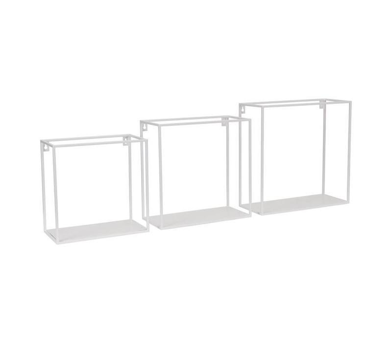 Wallbox set van 3st White