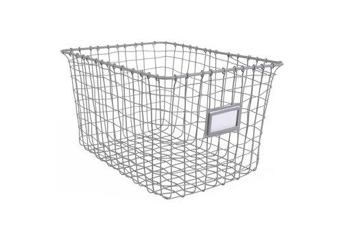 KidsDepot Wire baskets 3 pcs Grey