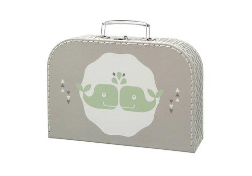 Fresk Kofferset Whale grey 2st