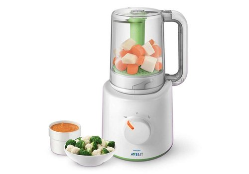 Avent Steamer/blender with food storage cups