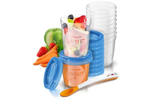 Avent VIA Natural Food storage set