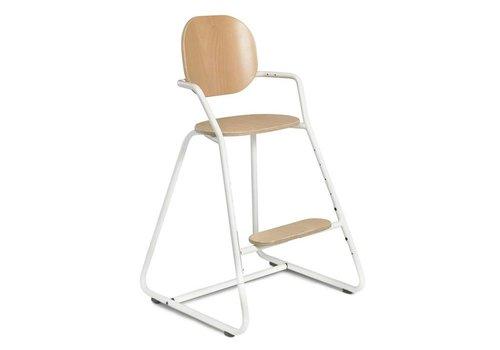 Charlie Crane TIBU High Chair Beech Gentle White