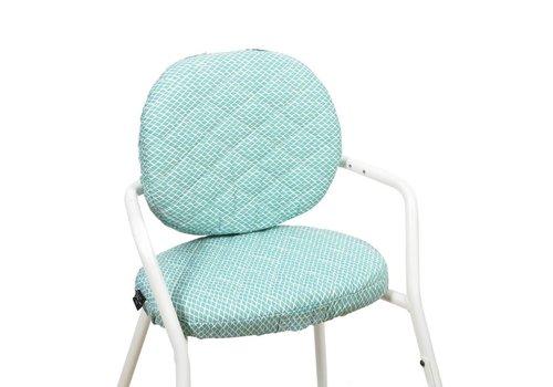 Charlie Crane TIBU Cushion Diamond blue
