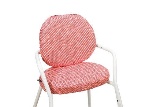 Charlie Crane TIBU Cushion Diamond Red