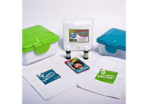 Cheeky Wipes All-in-one Cheeky Wipes - mixed trial set