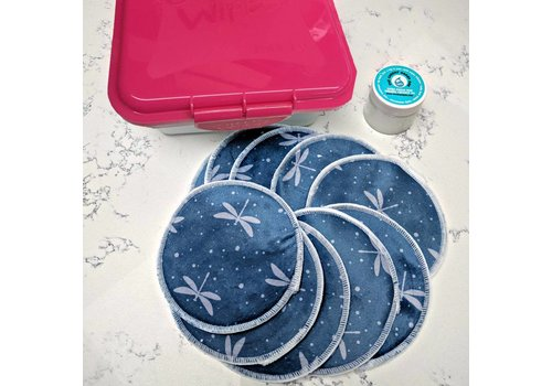Cheeky Wipes Kit make-up verwijderen - blue dragonfly
