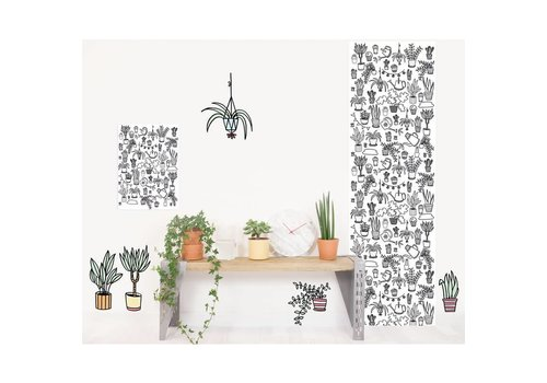 Chispum Inkleur behang Eva Mouton 45x250 Plants