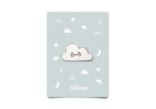 Eef Lillemor Enamel Pin Cute Cloud