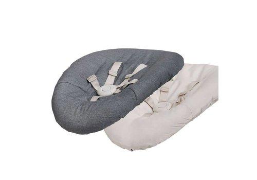 Evomove Nomi Baby Omkeerbare matras Dark grey/sand