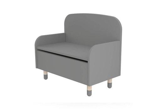Flexa Play storage bench Grey
