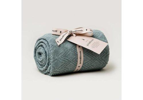 Garbo&Friends Ollie Cotton Blanket 80x120cm Teal