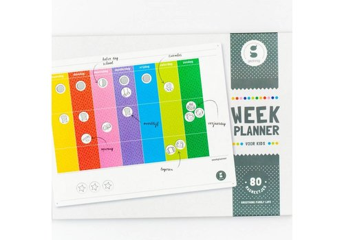 Gezinnig Kids week planner