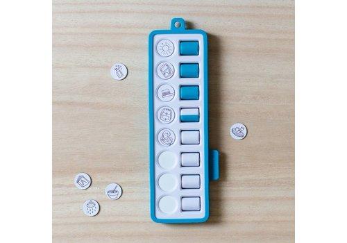 Gezinnig Check pad blue