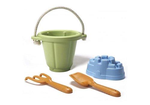Green Toys Strandspeelset Groen